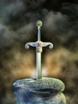 Sword in Stone - Dreamstime